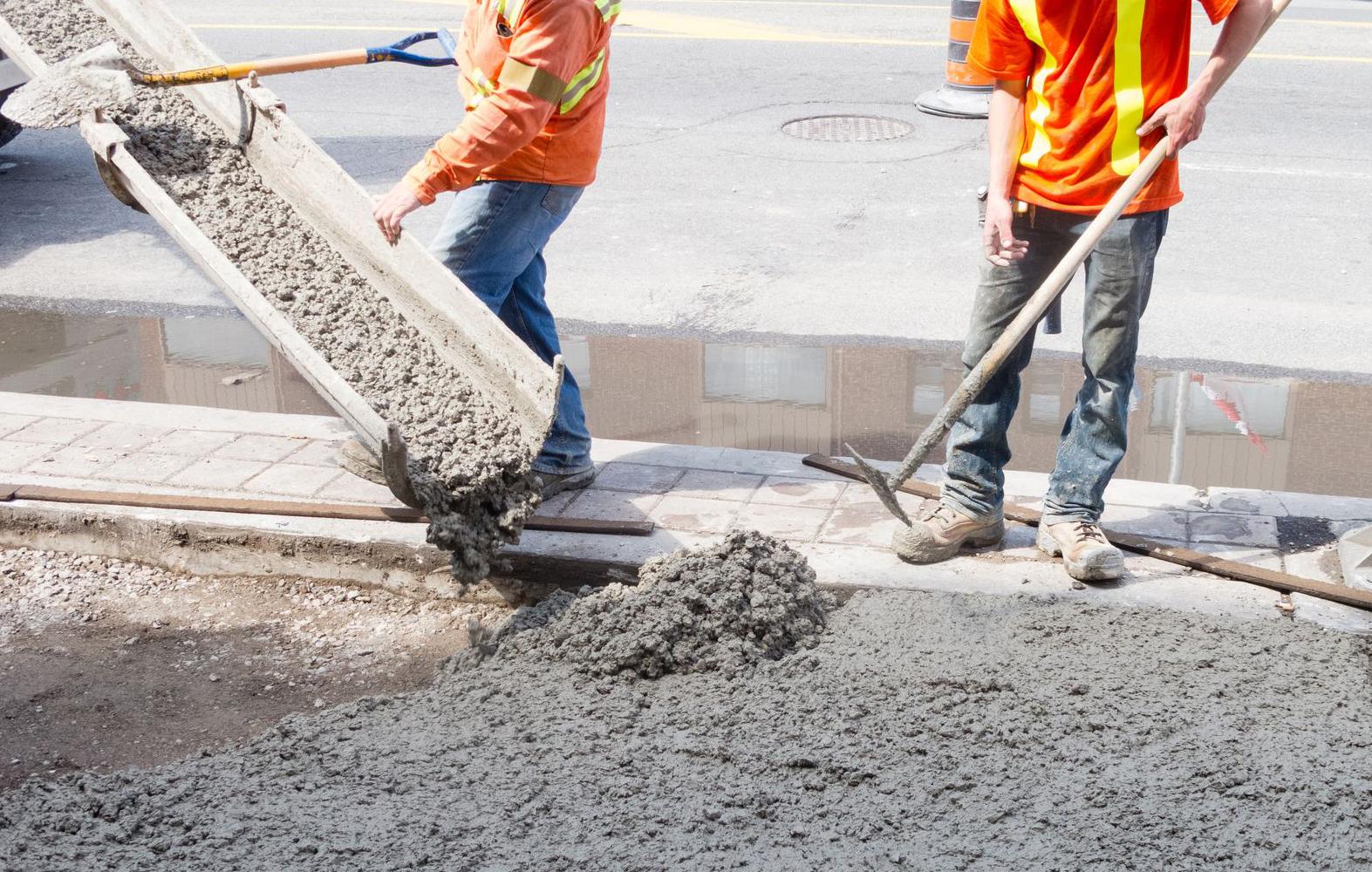 small job concrete contractors near me